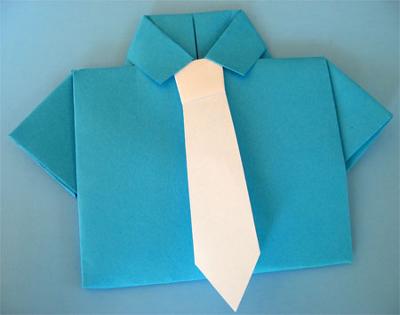Подарок для дедушки своими руками оригами